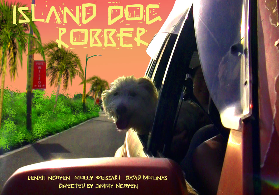 Yetti Island Dog Robber poster