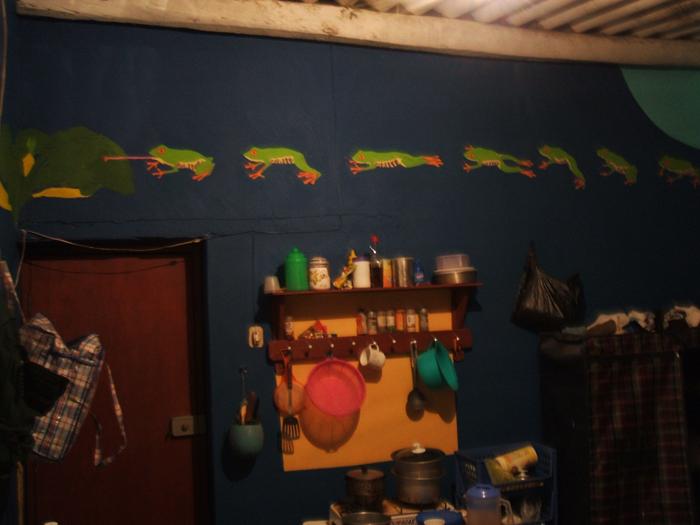 Frogs Mural