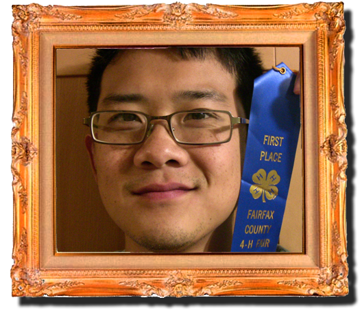 Jimmy Nguyen wins 4-H First Place Blue Ribbon for movies