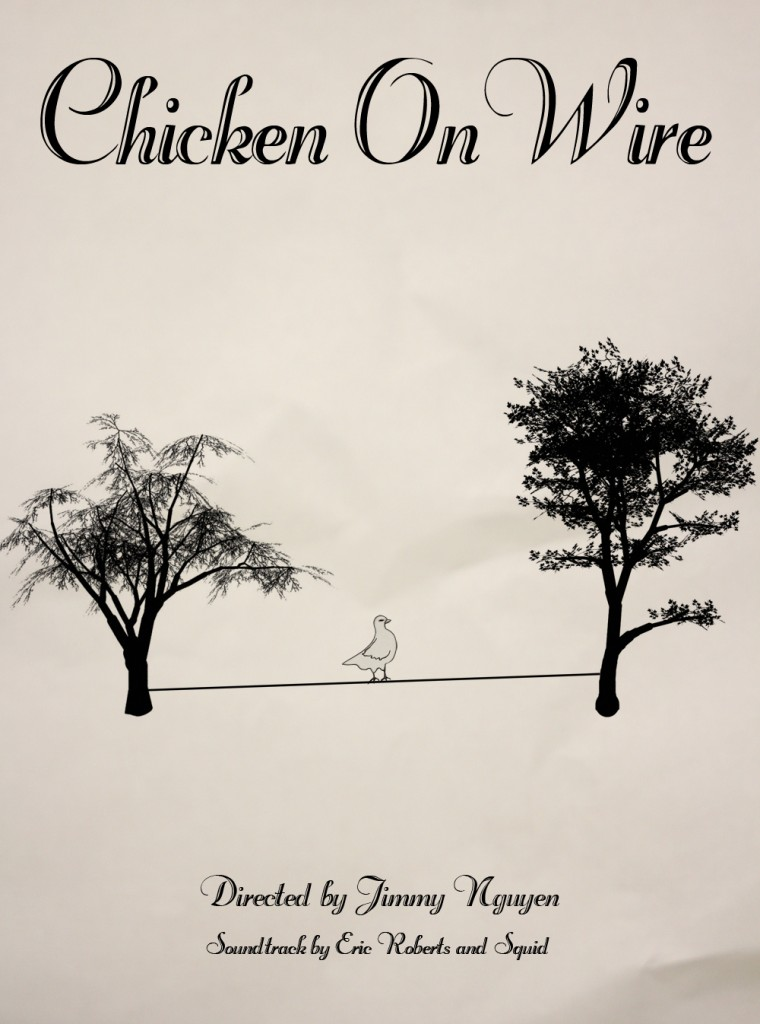 Movie Poster - Chicken On Wire