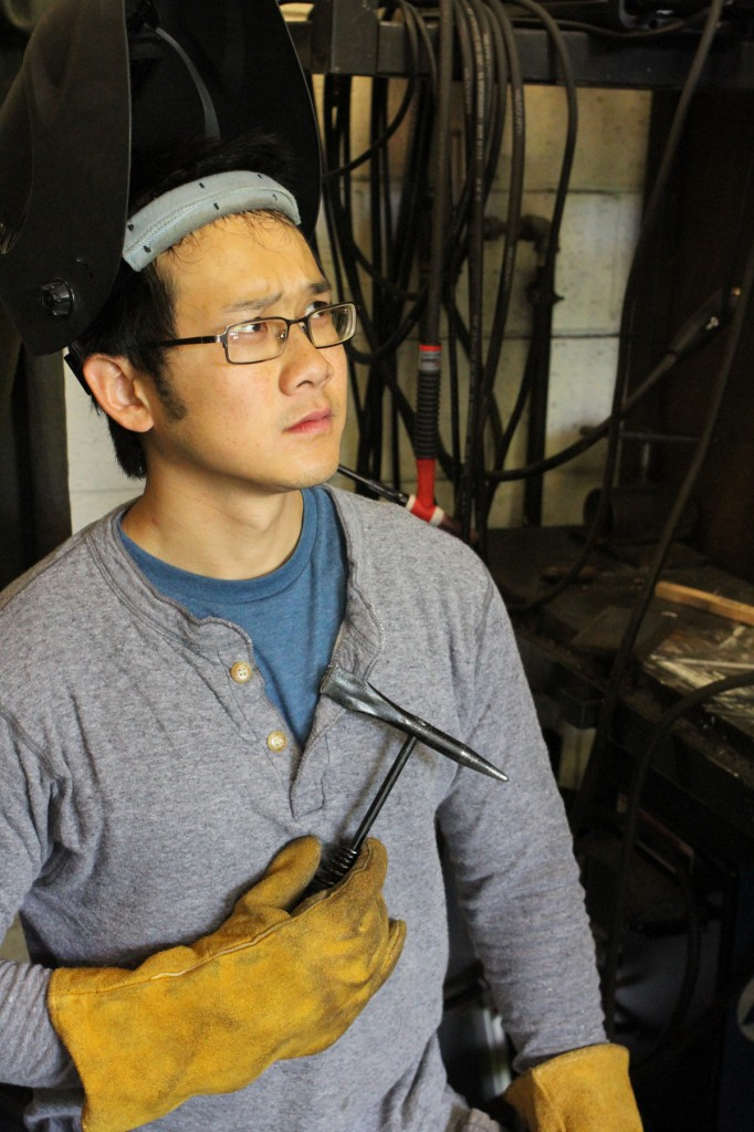 Director and welder Jimmy Nguyen