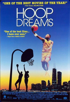 Hoop Dreams documentary movie poster