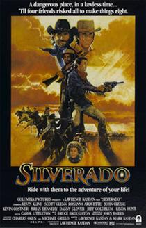 Silverado western movie poster