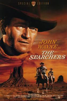 The Searchers western movie poster